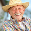 Portrait of senior man — Stock Photo