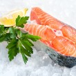 Fresh salmon fillet - 