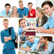 Education collage — Stock Photo #9032658