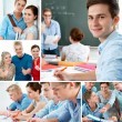 Royalty-Free Stock Photo: Education collage