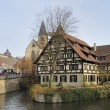 Stock Photo: Cityscape with wattle house, esslingen