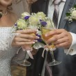 Stock Photo: Wedding champagne