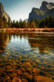 River in Yosemite Valley — Stock Photo
