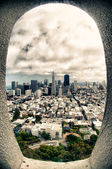 City view of San Francisco — Stock Photo