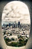 Vista a la ciudad de san francisco — Foto de Stock