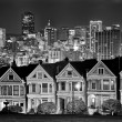 Stock Photo: Alamo Square