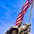 Iwo Jima War Memorial, USA - Stock Photo