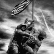 Stock Photo: Marine Corps War Memorial