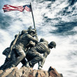 Marine Corps War Memorial - Stock Photo