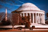 Jefferson památník — Stock fotografie
