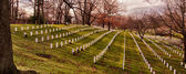 Arlington National Cemetery in Virginia, USA — Stock Photo