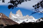 Fitz roy dağ ve buzullar 2 — Stok fotoğraf