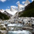 Stock Photo: Fitz roy mountain landscape 5