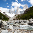 Stock Photo: Fitz roy mountain landscape 3