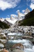 Paisaje de montaña fitz roy 5 — Foto de Stock