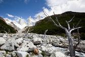 Paisaje de montaña fitz roy 4 — Foto de Stock