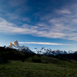 Stock Photo: Fitz roy mountain landscape 2