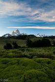 Fitz roy mountain landscape — Stock Photo