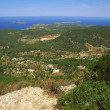 Ibiza panoramic view in northeast — Stock Photo