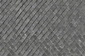 Structure with gray slates of 1920 — Stock Photo