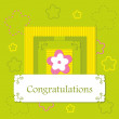 Royalty-Free Stock Imagen vectorial: Greeting card