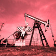 Stock Photo: Oil jacks