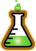 Flask vector — Stock Vector