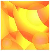 Kleurrijke glad draai lichtlijnen vector achtergrond. eps 10. — Stockvector