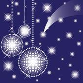 Bolas para una decoración. navidad. vector. — Vector de stock