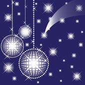 Boules pour une décoration. noël. vector. — Vecteur