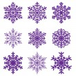 Decorative snowflake. Vector illustration. — Stock Vector #8552272