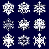Decorative snowflake. Vector illustration. — Stock Vector