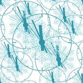 Tempo. illustrazione vettoriale. senza soluzione di continuità. — Vettoriale Stock