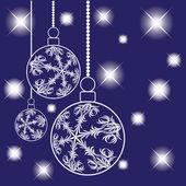 Bälle für eine dekoration. weihnachten. vektor. — Stockvektor