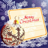 装饰用的球。圣诞节。矢量. — 图库矢量图片