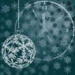 Balls for a decoration. Christmas. Vector. - Stockvectorbeeld