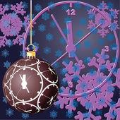 Christmas. Time. Vector illustration. — Stock Vector