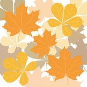 Design floral element. Vector illustration. Seamless. — Stock Vector