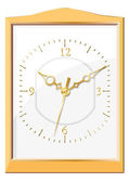壁掛け時計。ベクトル イラスト。シームレスです. — ストックベクタ