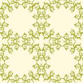 装飾ヴィンテージの要素。花のスタイル。シームレスです. — ストックベクタ