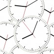 Wall clock. Vector illustration. Seamless. — 图库矢量图片 #9089492