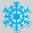 Snowflakes. Vector illustration. — Vettoriali Stock