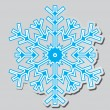 Snowflakes. Vector illustration. — ベクター素材ストック
