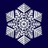 снежинки. векторные иллюстрации. — Cтоковый вектор