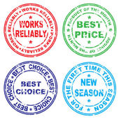 Stamp. Vector illustration. — Stock Vector