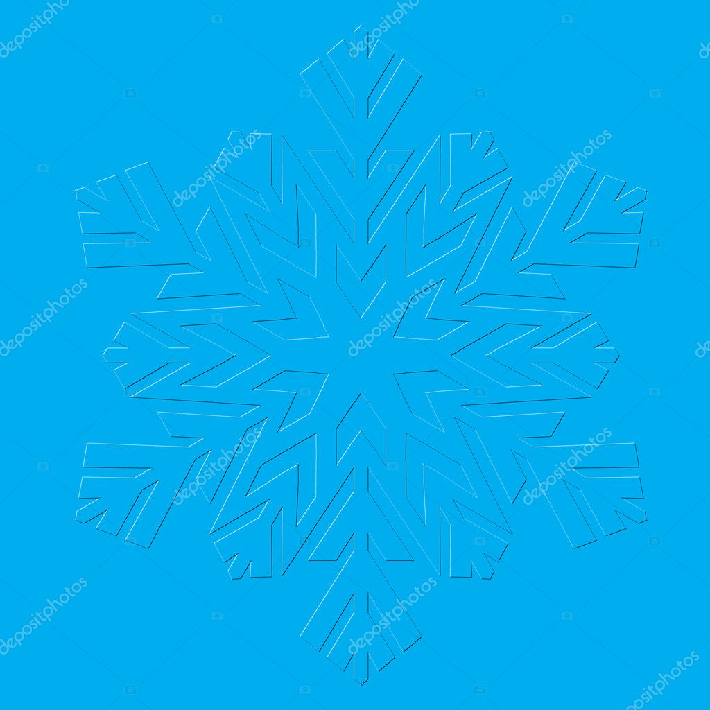 Snowflakes. Vector illustration.  Stock Vector #9089567