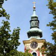 Church tower — Stockfoto