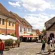 Foto Stock: Old houses of Szentendre