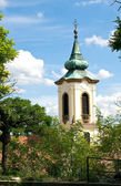 Belltower of Szentendre — Stock Photo