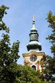 Wieża kościoła — Zdjęcie stockowe